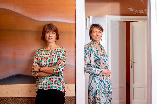 Chiara Enrico and her sister Anna founders of Misha