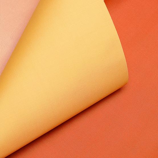 Orange and pink silk fine thread details