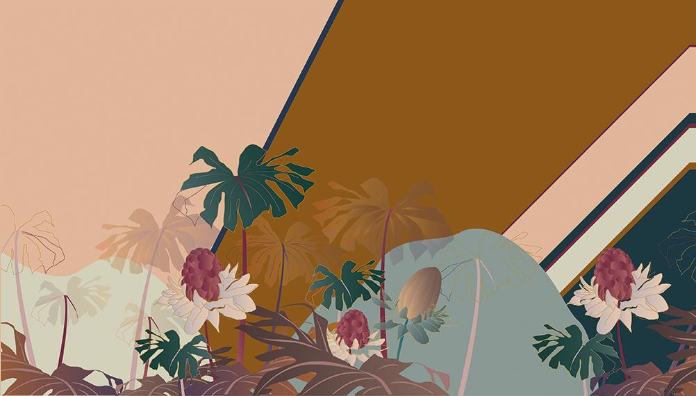 Oasi <small>Peach + Sunset</small>